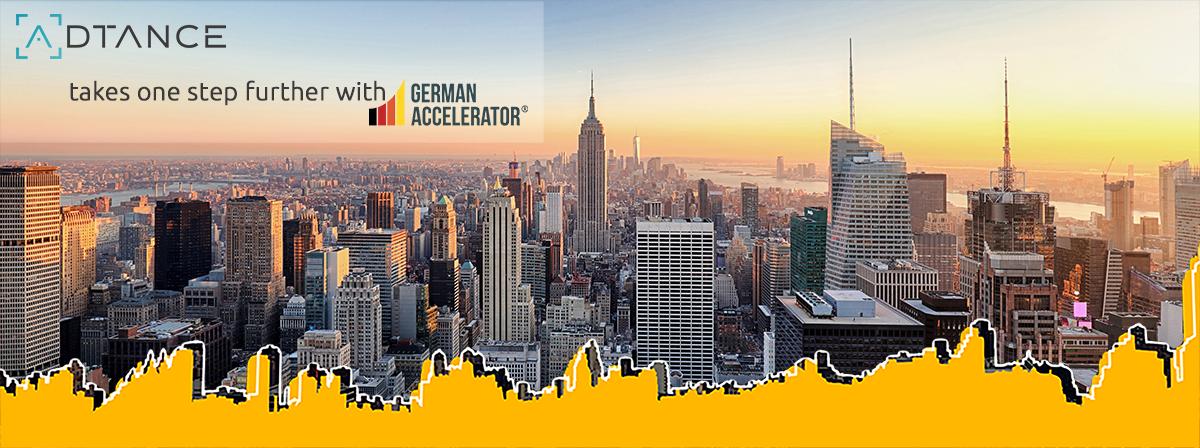 ADTANCE nimmt am German Accelerator Programm teil