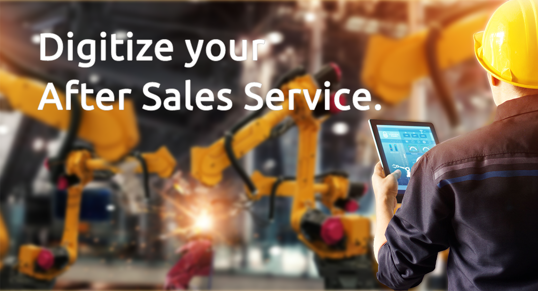 Digitized after sales service with ADTANCE