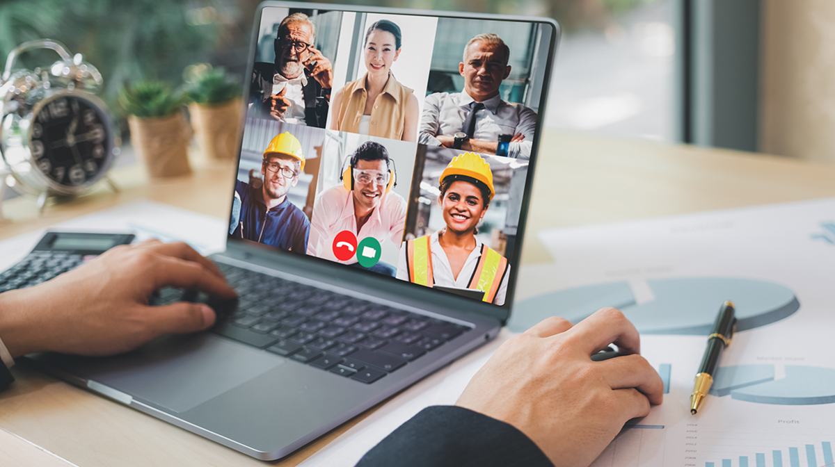 remote support working in a team with component supplier and third party suppliers