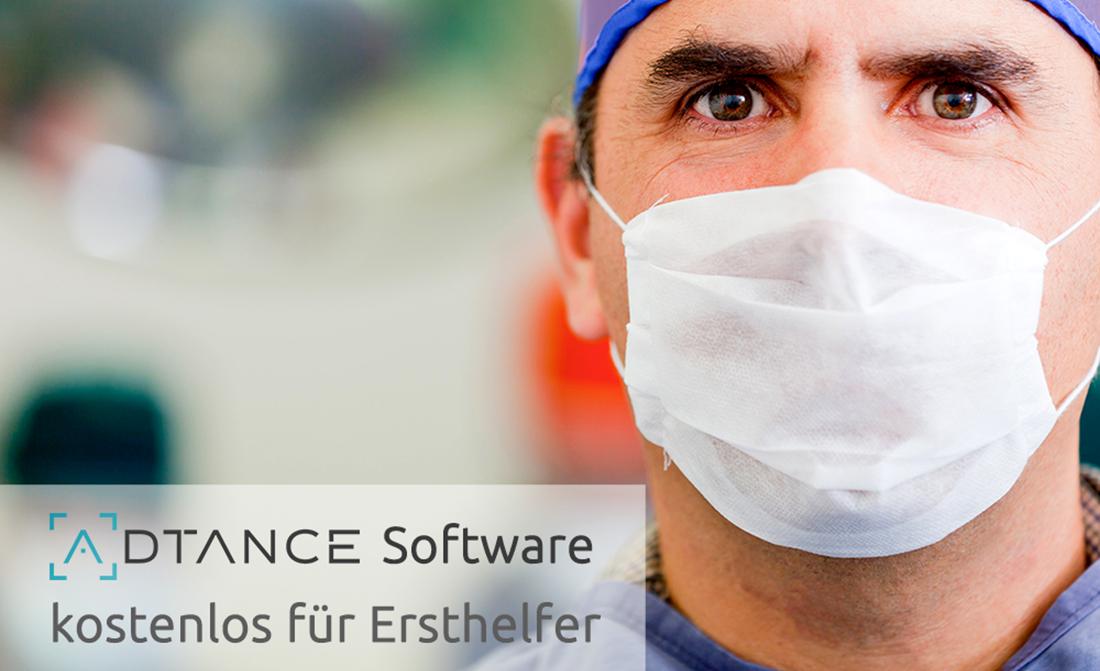 ADTANCE Software kostenlos für Ersthelfer