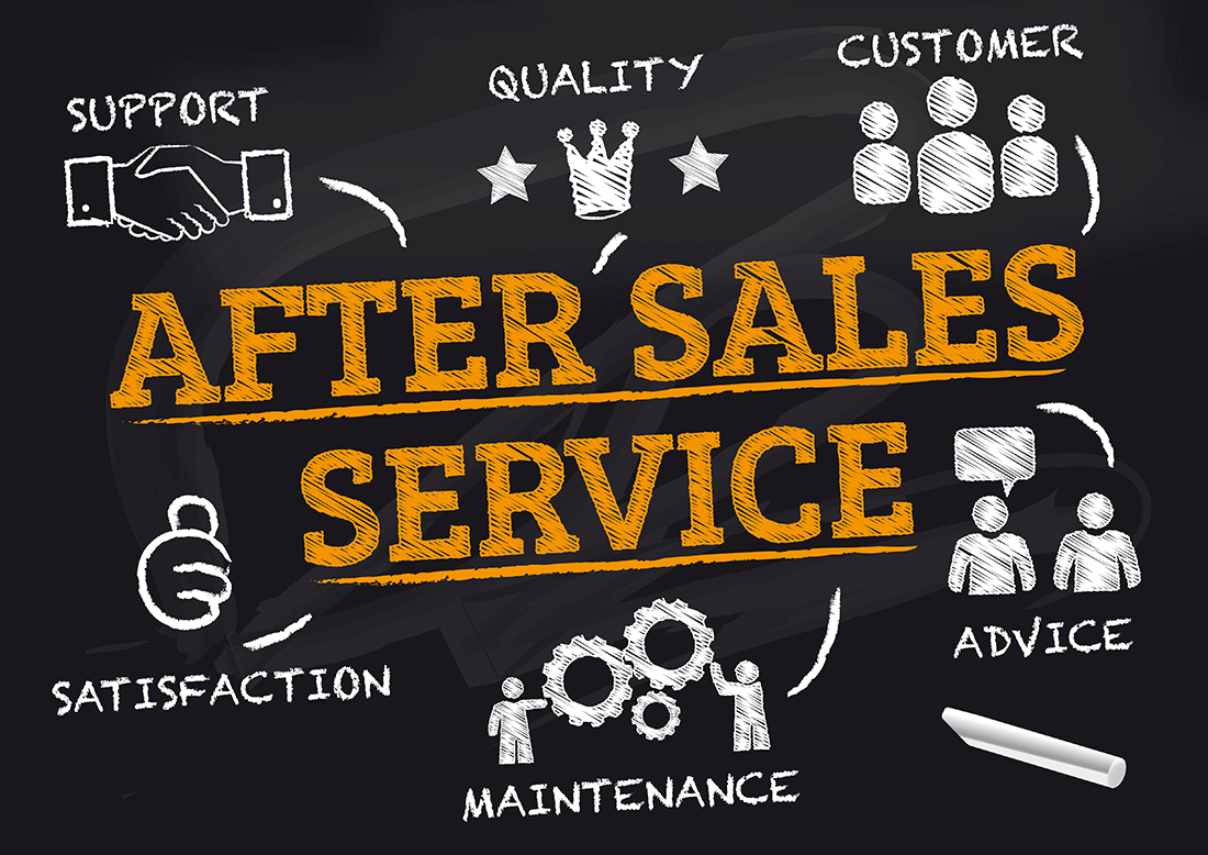 reliable After Sales Service with ADTANCE