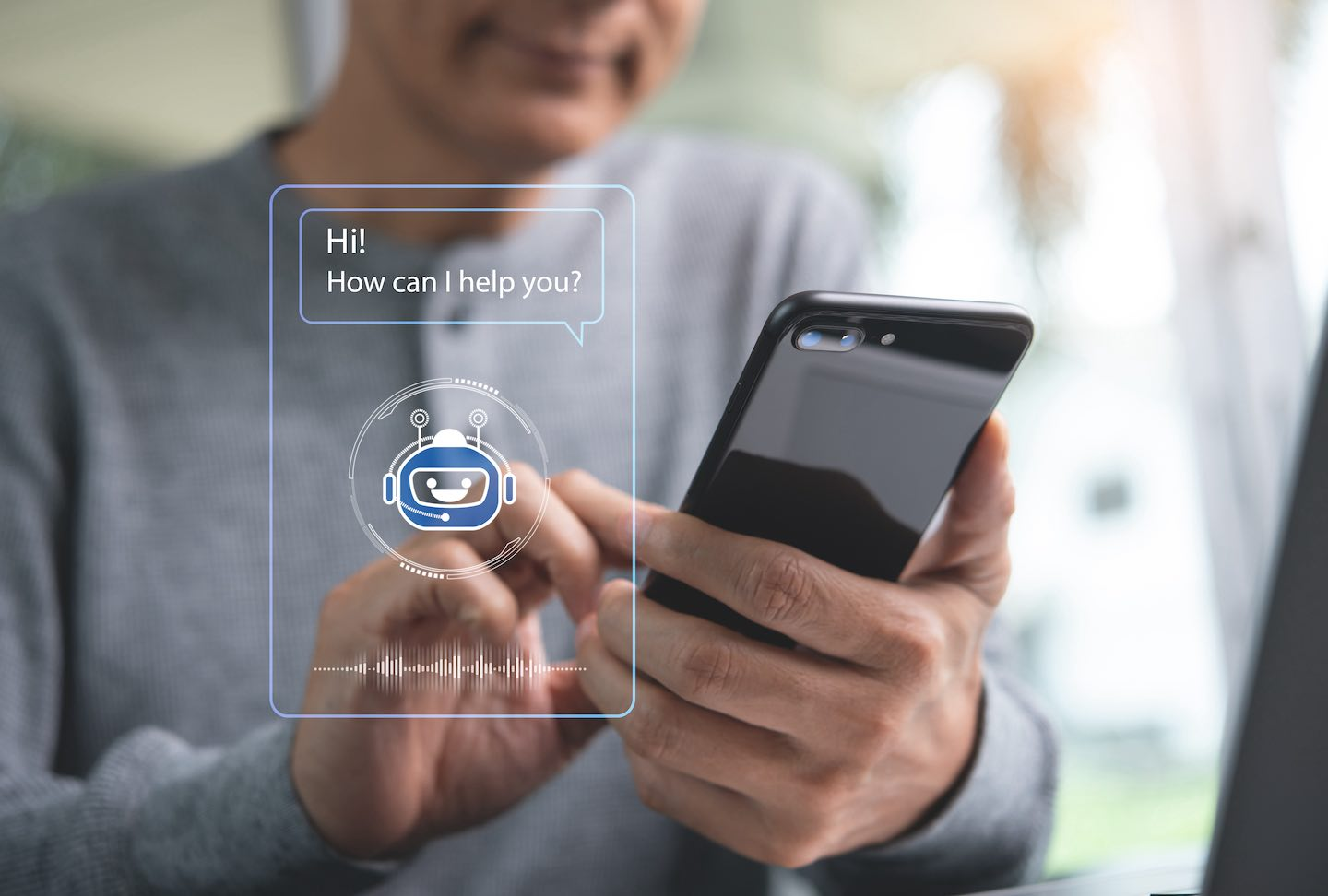 A chatbot offers the possibility to respond quickly to requests