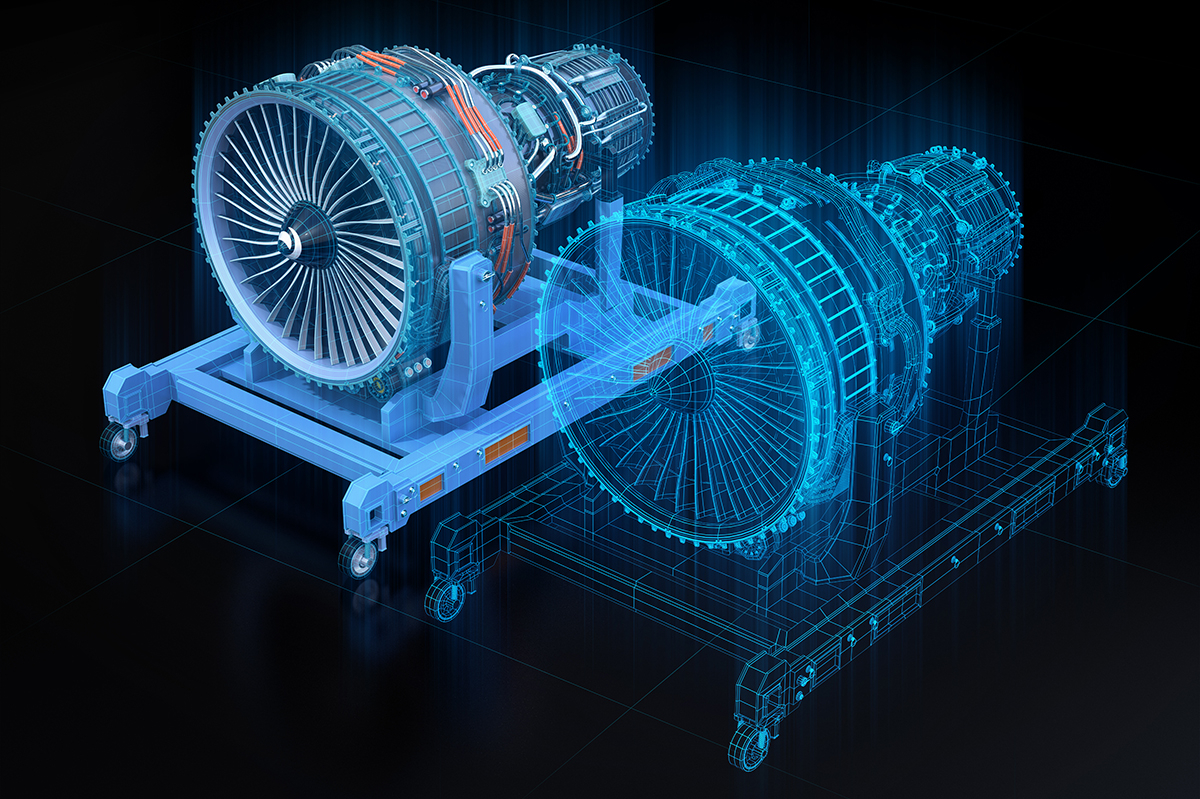 Digital twin technology for engines