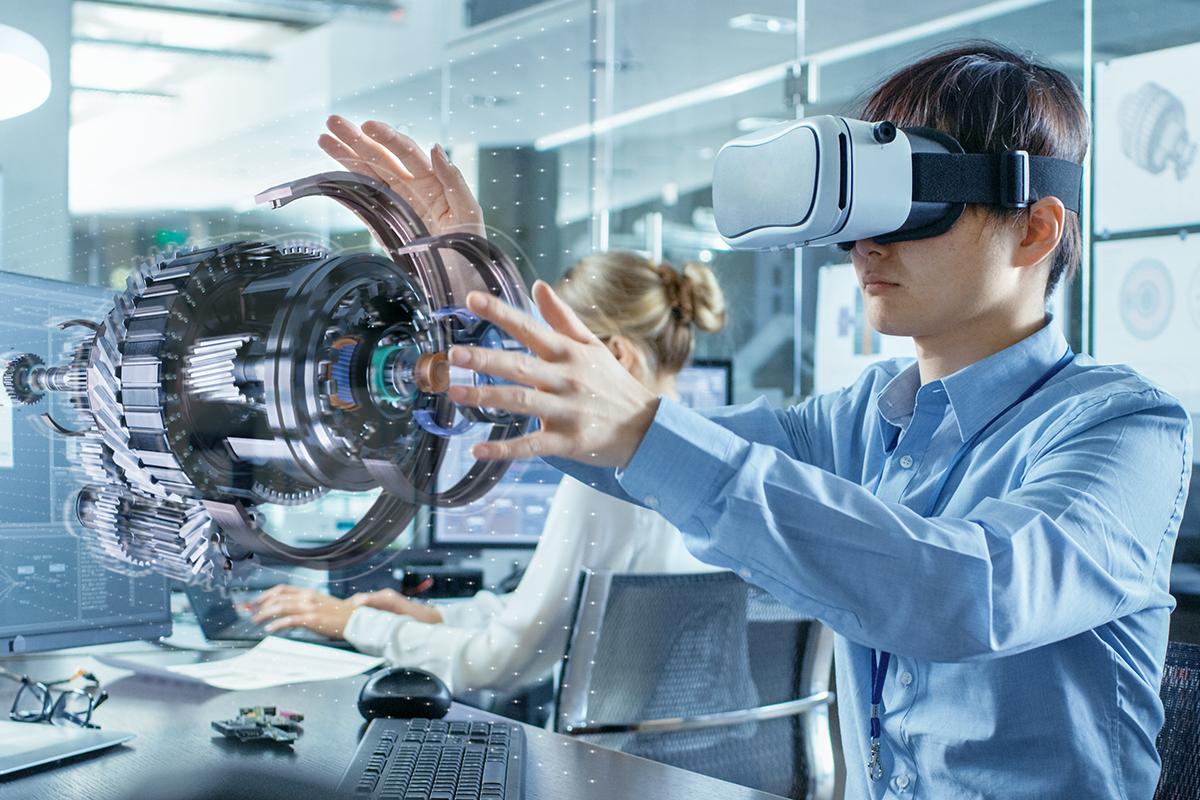 Der digitale Zwilling und Augmented Reality