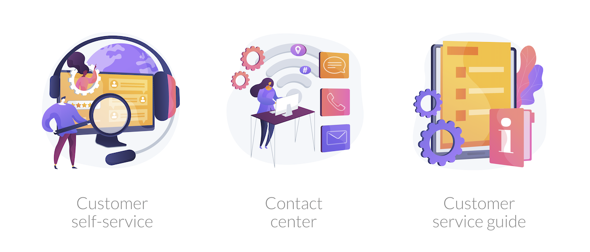 Self Service portal helps customers