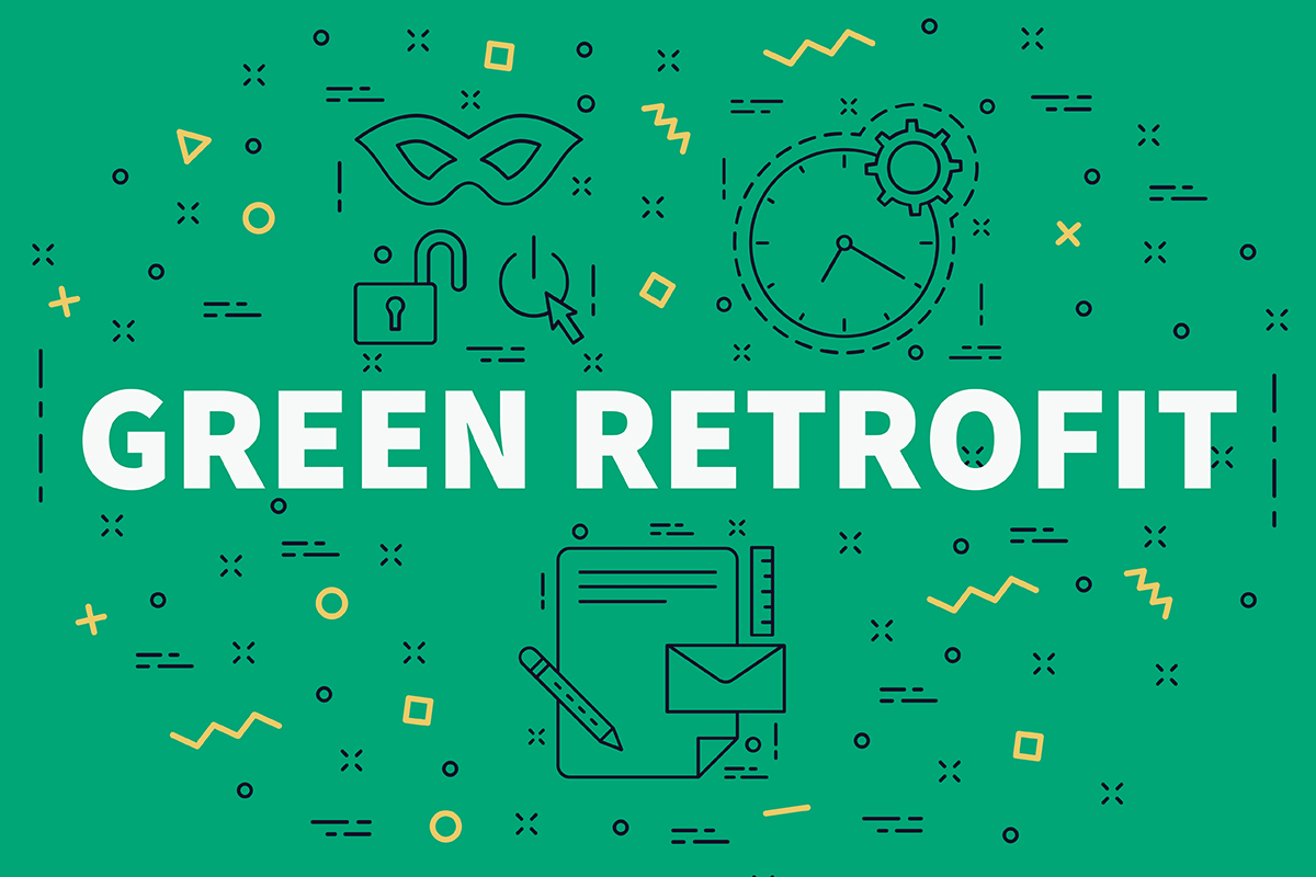 More sustainability through retrofitting