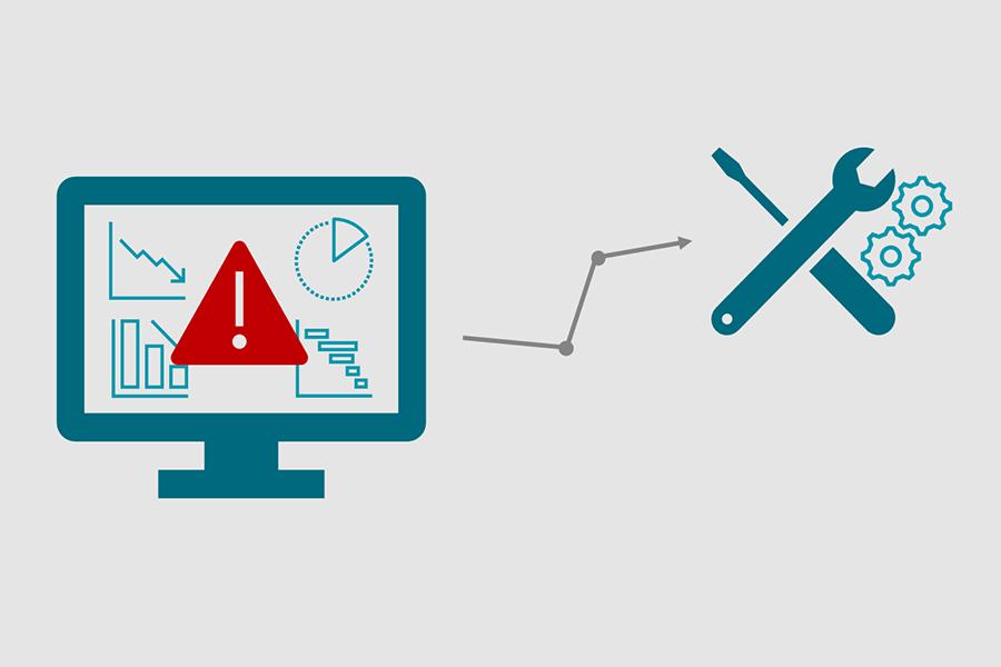 Frühzeitige Warnung bei potentiellen Problemen mit ADTANCE Predictive Maintenance